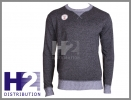LEE COOPER sweter Twist Knit Sn64 czarny