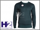LEE COOPER sweter Twist Knit Sn64 ciemny zielony